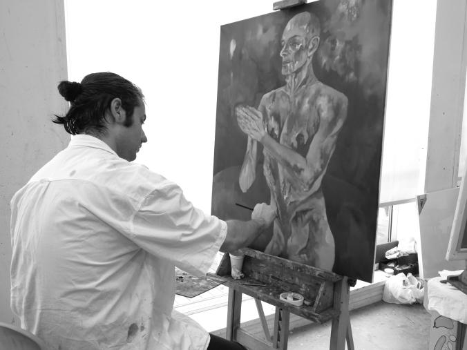 Pintando en Ávila