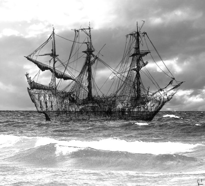 Barco Fantasma Germán Piqueras