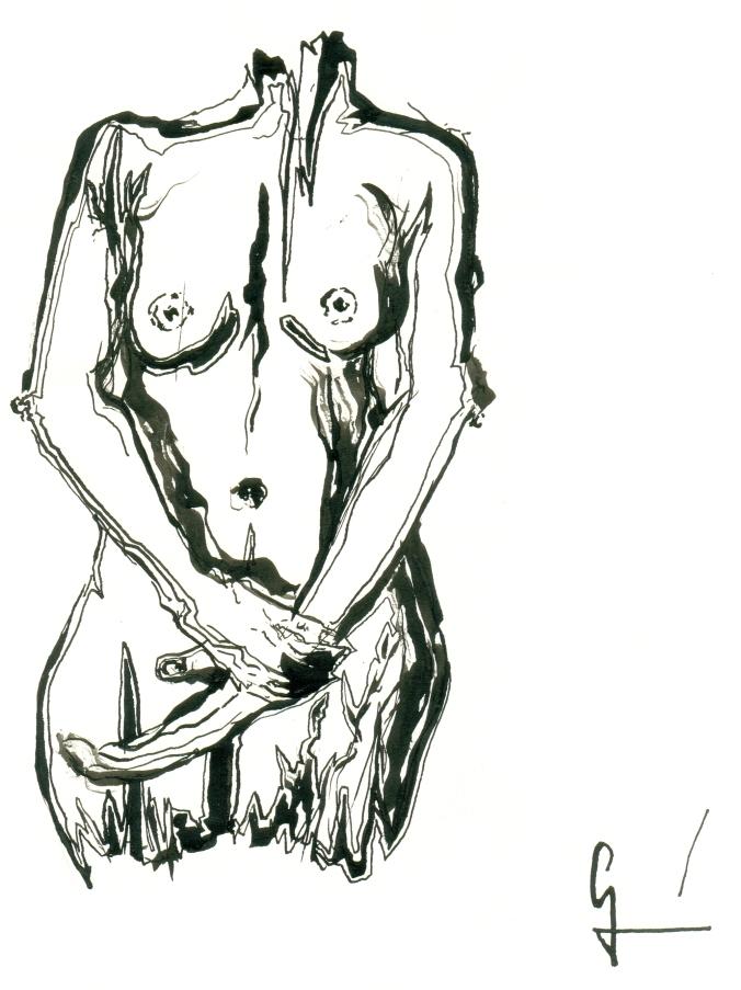 Cuerpo de mujer Germán Piqueras