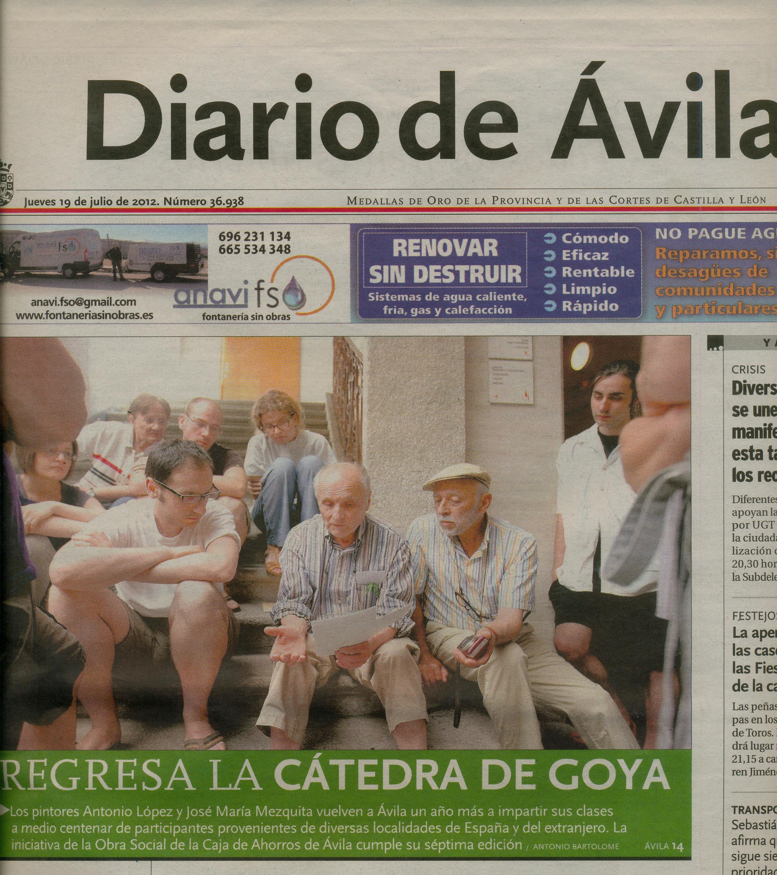 Diario de Ávila 2012