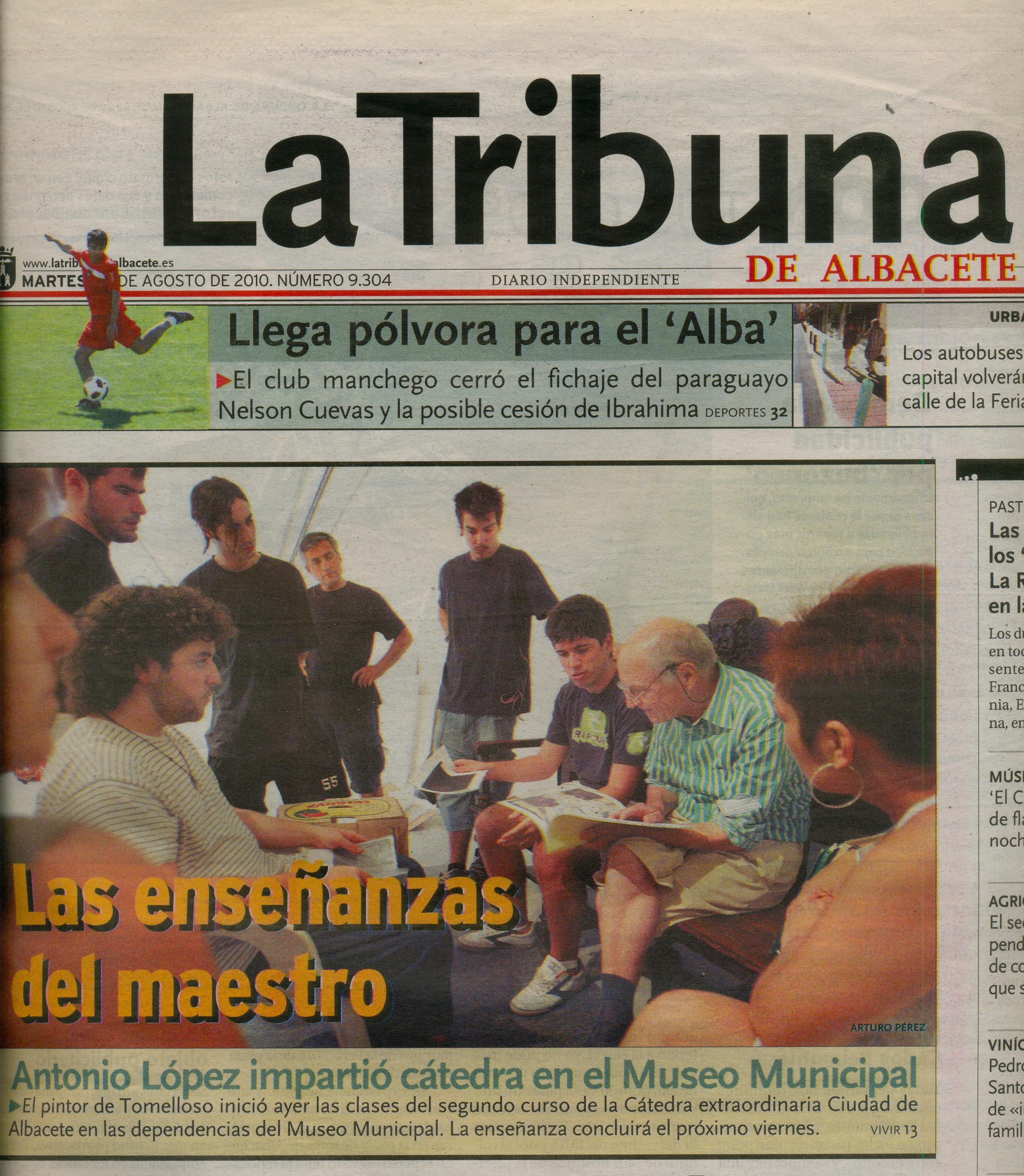 La Tribuna de Albacete 2010