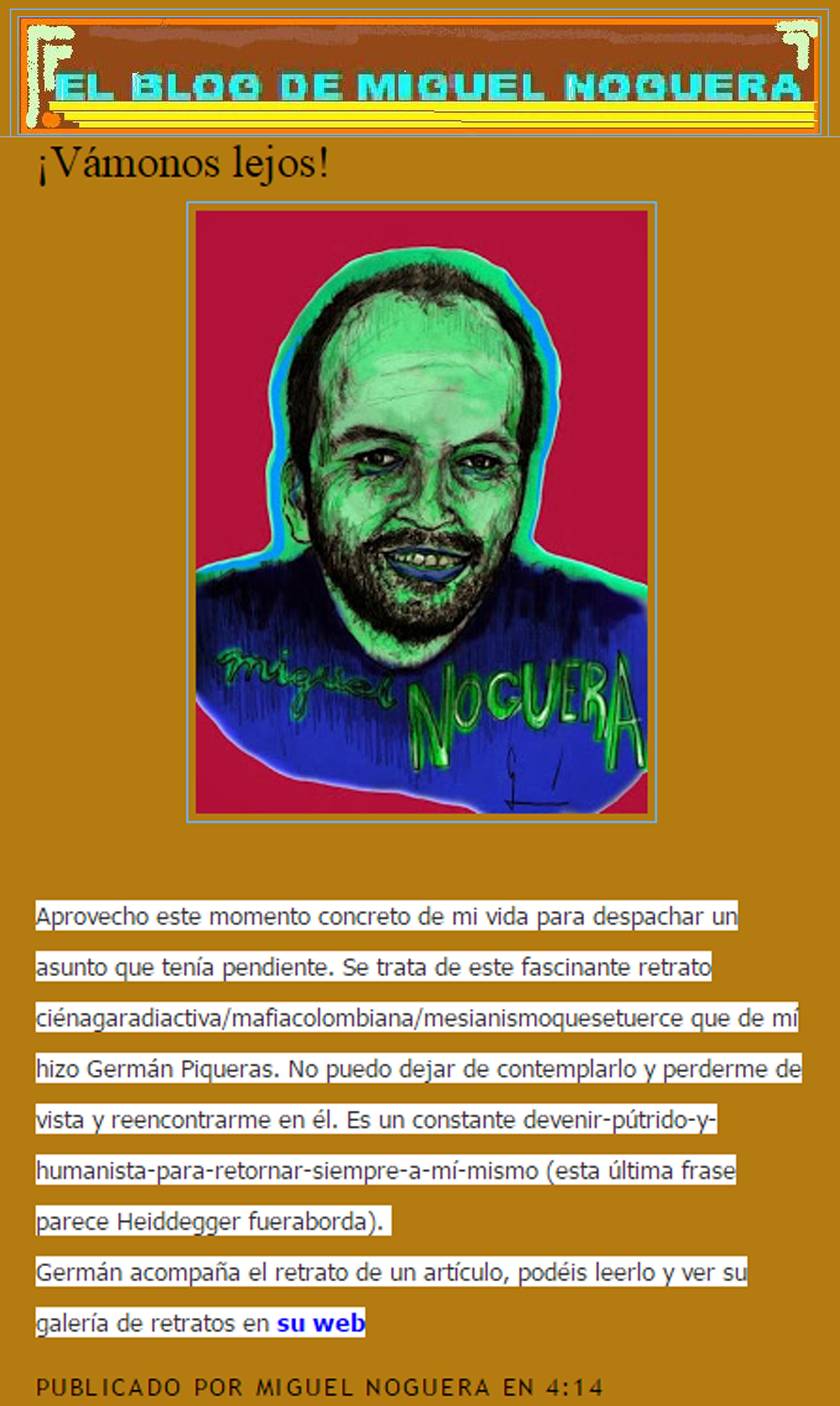 Miguel Noguera Blog Germán Piqueras