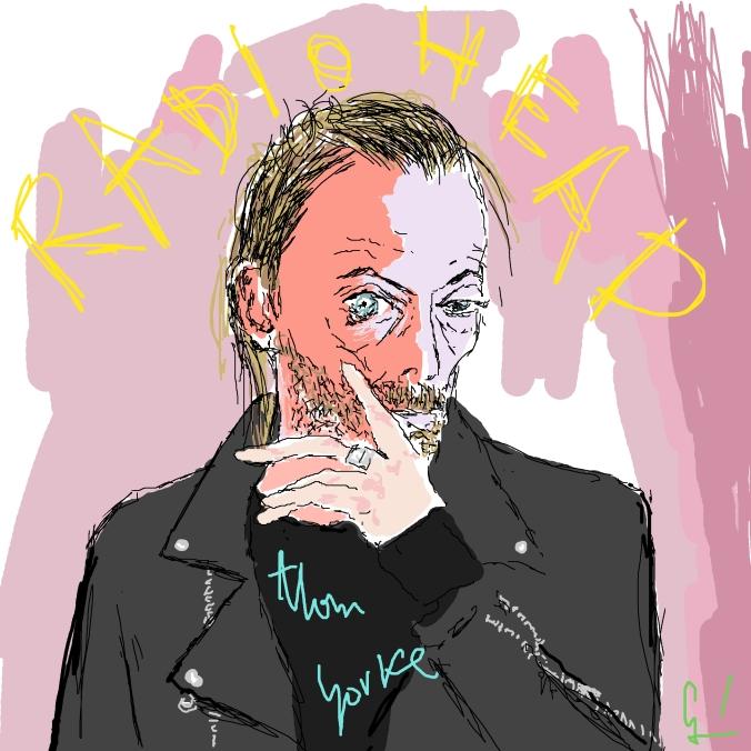Radiohead Thom Yorke