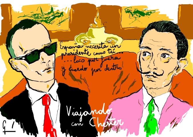 Risto Mejide y Salvador Dalí Germán Piqueras Arona