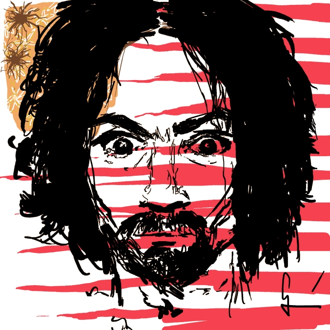 Charles Manson Bullets in your hair Germán Piqueras